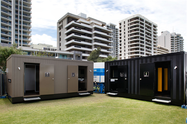 Six Star VIP Toilet Blocks