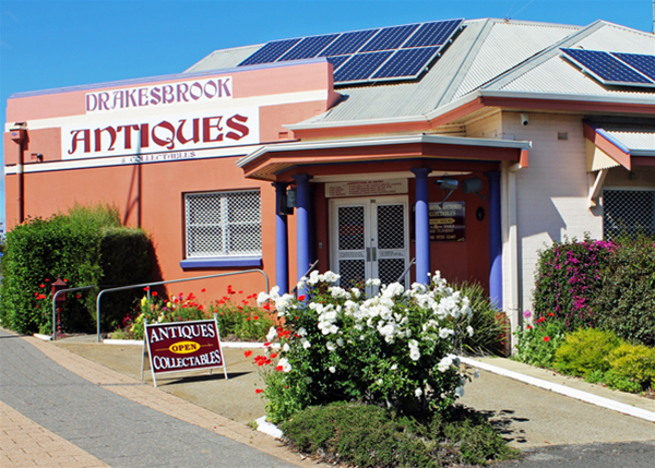 Drakesbrook Antiques & Collectables 85 SOuth West Hwy Waroona
