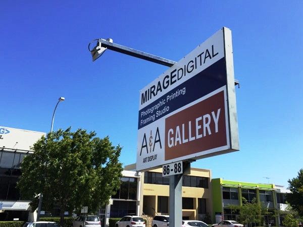A&A Art Display Signboard