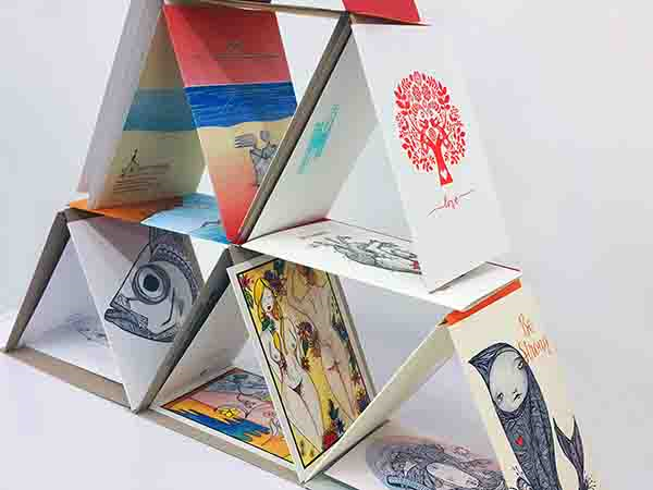 Nosey Parker, Sofie Seyah, Fluid Ink Letterpress, Arli Design