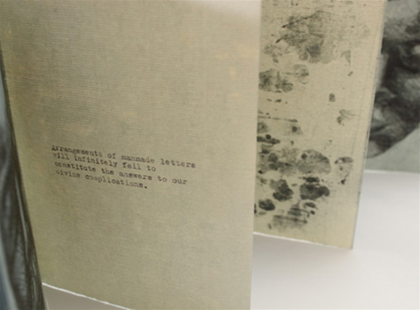 Limitation, artists book by Aliesha Mafrici