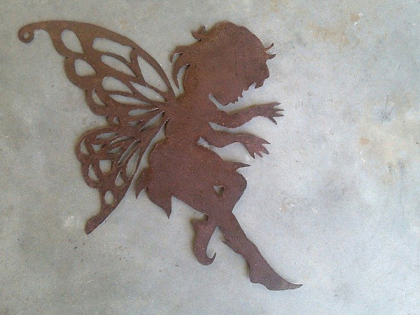 Baby fairy cut out created at Designer Dirt