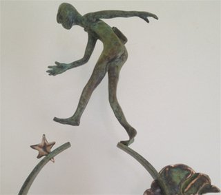 star jumper ltd edn bronze sculpture