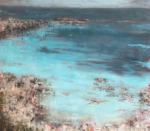 Little Salmon Bay, Rottnest, Oil on Canvas, 70cm x 80cm