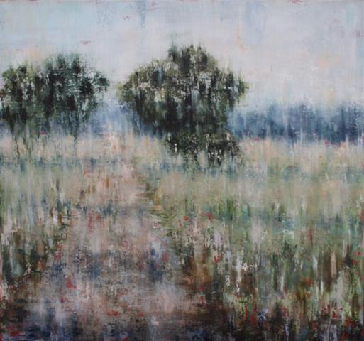 Farm Road - Yallingup, Oil on Canvas. 82 x 87 cm