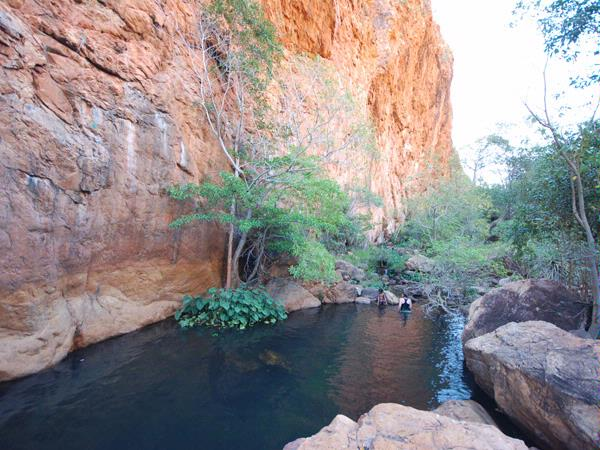 Cate Massola, Waterhole, East Kimberley