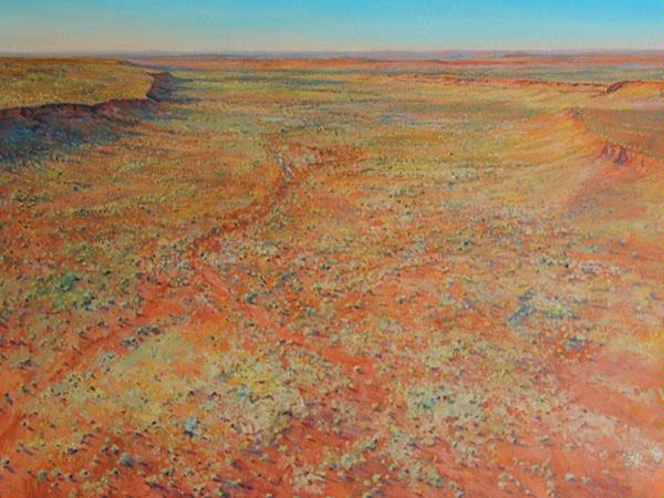 Pilbara Afternoon by Douglas Kirsop (Oil on Canvas)