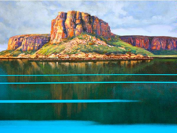 Raft Point by Brendan Darby (Oil on Canvas)