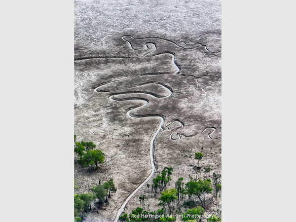 Tidal Rivlets, Kimberley, W.A.