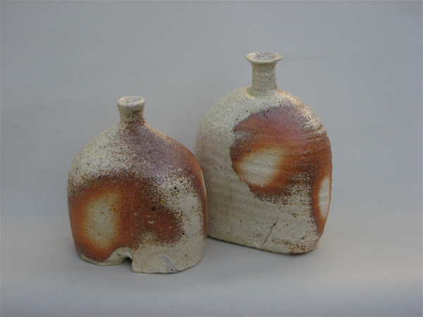 Wood/soda fired bottle