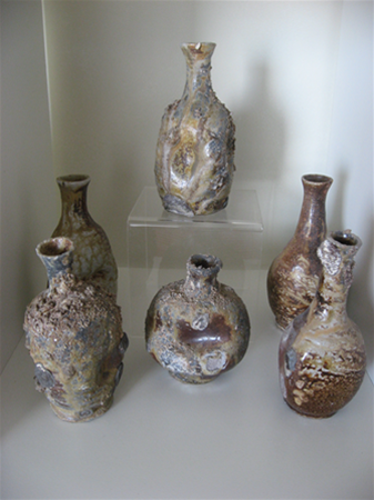 Wood fired, small bottles