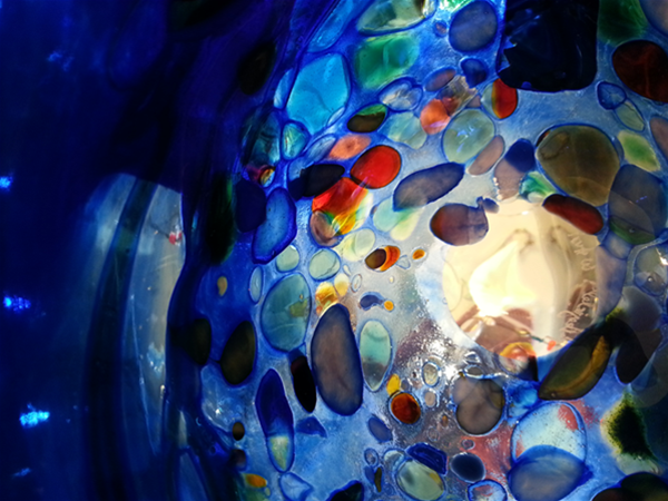 Art glass creatd by Peter Reynolds