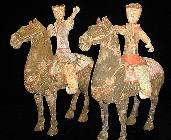 Han Dynasty 200 BC-220 AD Archers