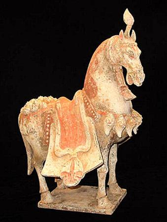 Tang Dynasty War Horse 618-907 AD