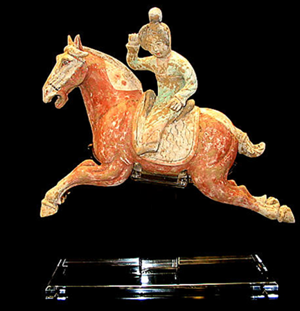 Tang Dynasty 618-907 AD Polo Player