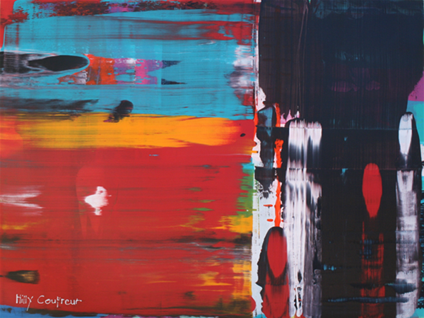 Richterscale #12, Acrylic on Canvas, 91cmx120cm