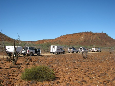 Discovering outback Australia on a Global Gypsies escorted 4WD tag-along-tour