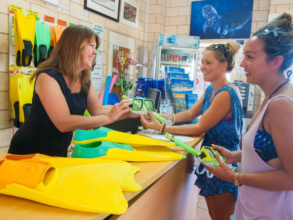 Visit the Exmouth Visitor Centre for local advice, tour and accommodation bookings, snorkel hire, souvenirs and much more.