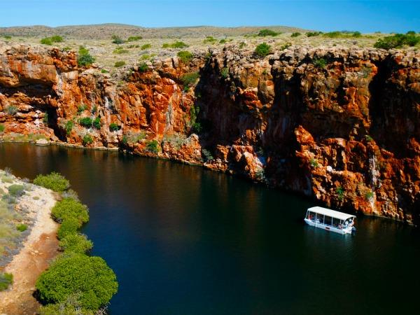 Yardie Creek Gorge in the Cape Range National Park.