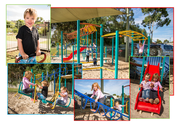 Parks and playgrounds for all ages