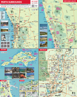 perth and surrounds region map