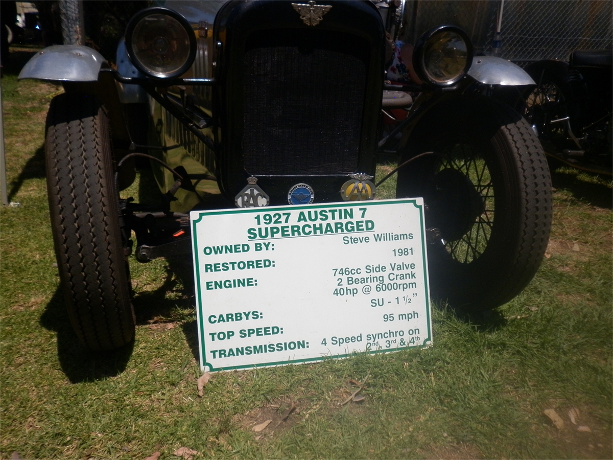 A vintage car on display at the South West Rail and Heritage Centre