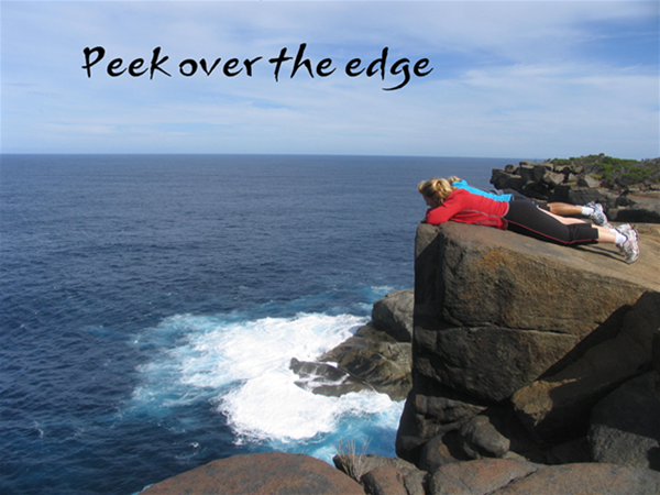 Peek over the edge
