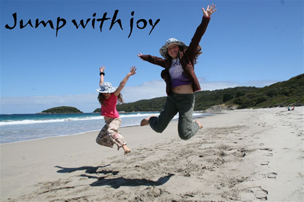 Jump with joy