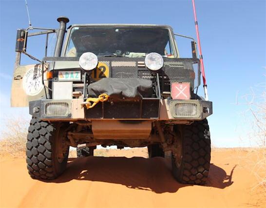 Mercedes Unimog support truck