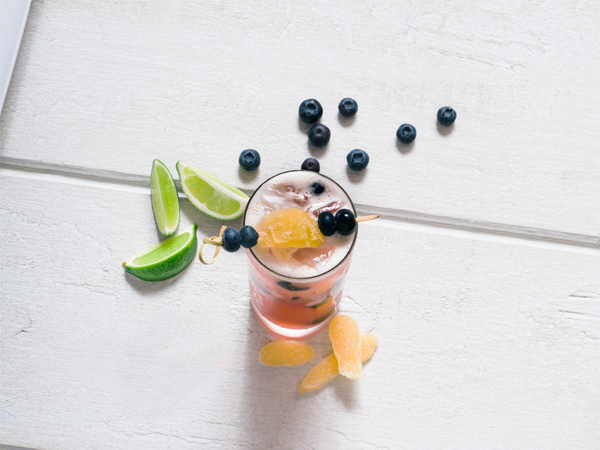 Blueberry Ginger Smash
