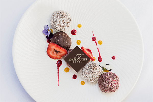 Delicious dessert creations by Chef Pete Evans