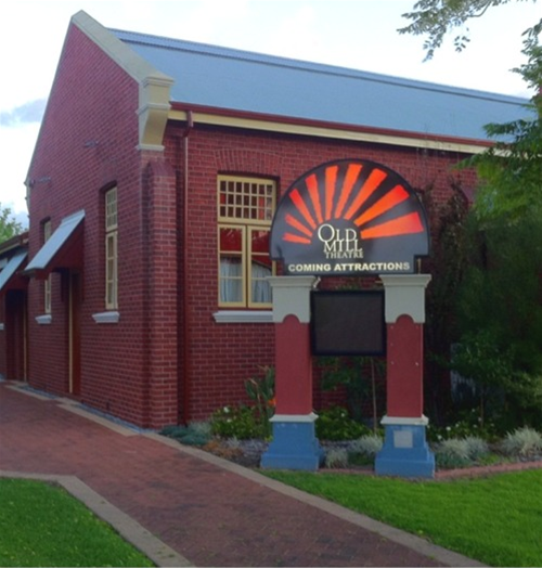 The Old Mill Theatre in South Perth, on the corner of Mends Street and Mill point Road.