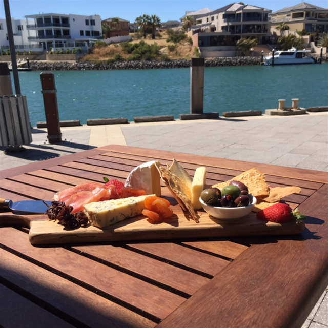Cheese Platter by the sea