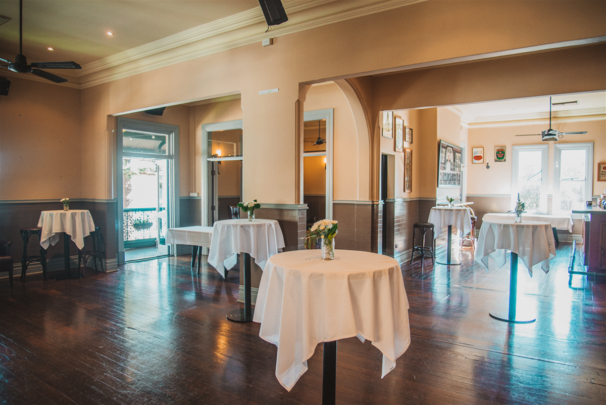 The River Bar - suitable for Weddings, Engagement Parties & Cocktail Functions up to 150 guests