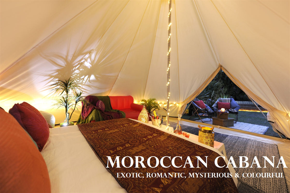 Moroccan Cabana Bell Tent ... & Bell Tent Party Hire u0026 Glamping - Edgewater Function Venues ...