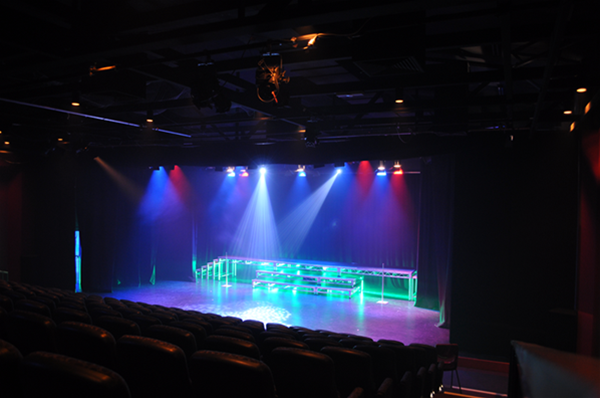 Theatre 1 with lighting