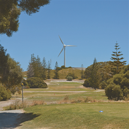 Newly-renovated golf course on Rottnest Island