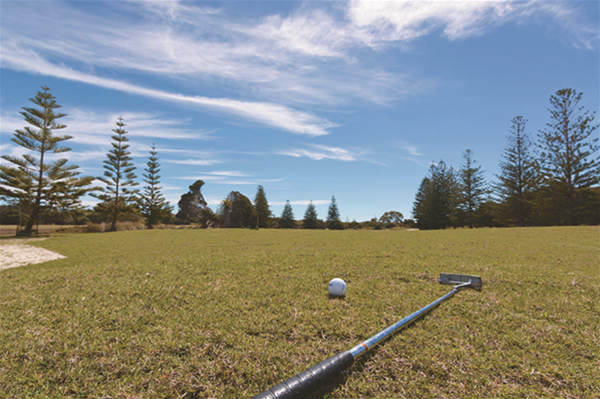 Play the newly-renovated 9-hole golf course on Rottnest Island