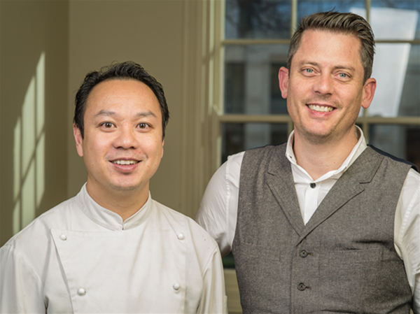 Executive Chef Nathan Le, Manager Matthew Schwind