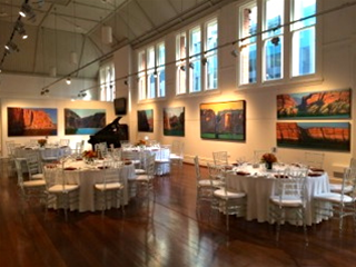 Seated Events at Linton and Kay Galleries Perth
