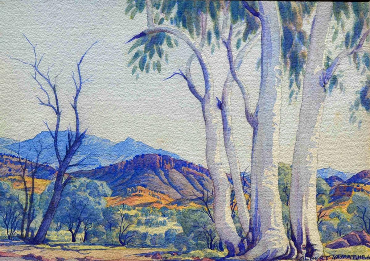 Albert Namatjira Art Work