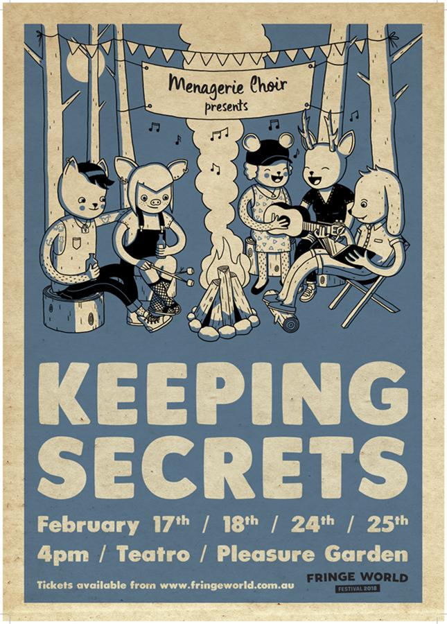 Menagerie Choir presents: Keeping Secrets