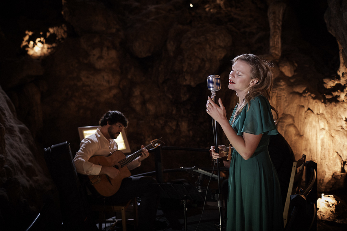 Cassandra Charlick at Ngilgi Cave