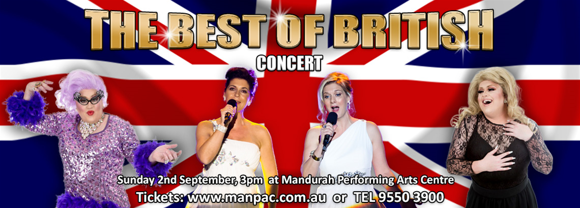 The Best of British Concert with Divalicious and Dean Misdale