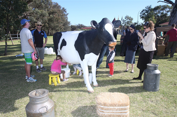 Bessie the Milking Cow