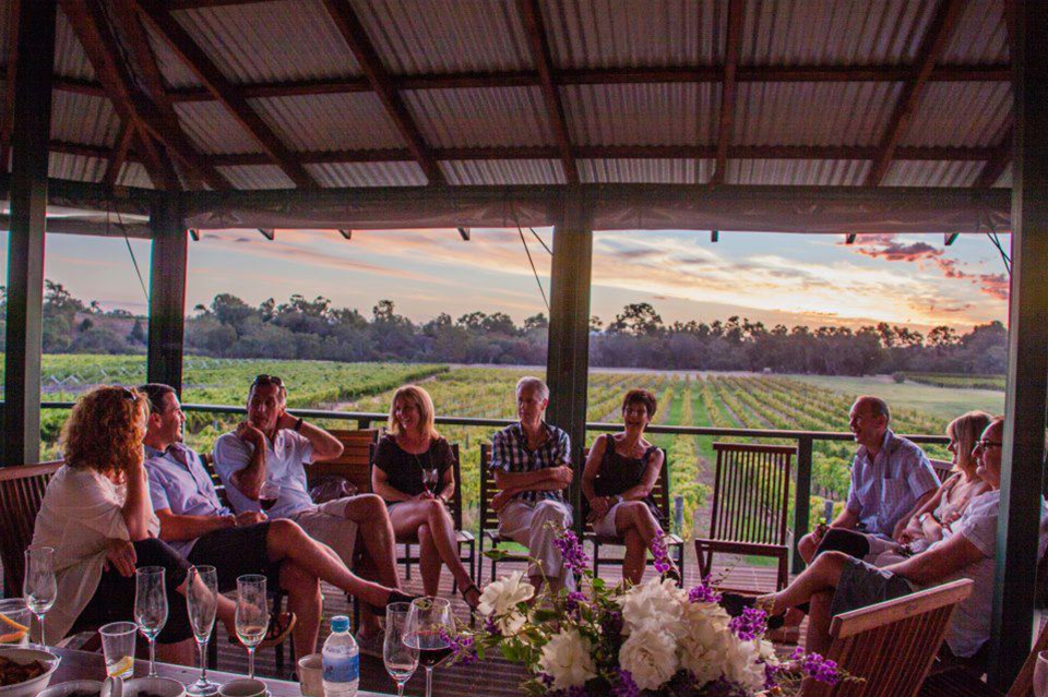 Entopia Wines has a large veranda overlooking the vineyard where guest are welcome to bring a picnic lunch to enjoy with our selection of wines.