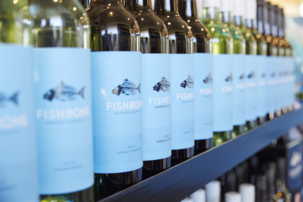 Fishbone wines