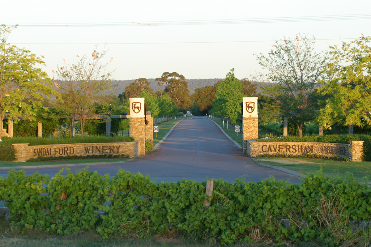 Sandalford Swan Valley entrance