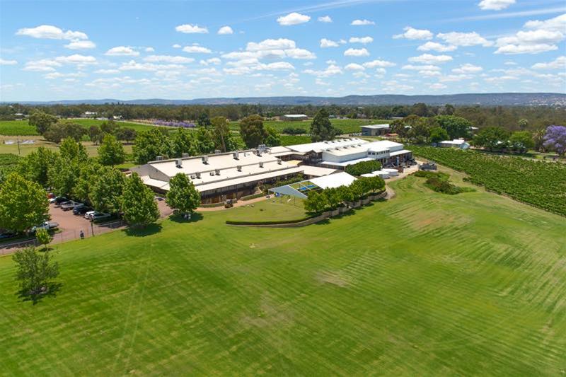 Sandalford Swan Valley aerial