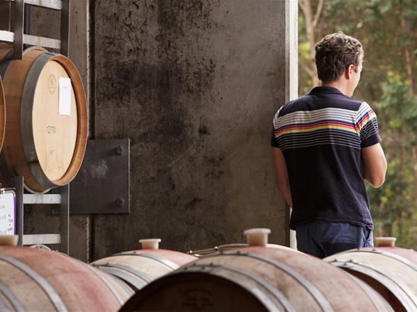 Winemaker Luke Jolliffe